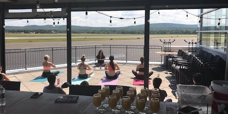 Yoga~Mimosa on the Deck at SOK'S Runway! tickets
