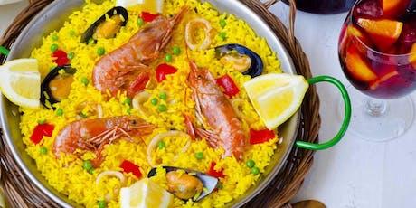 Tapas, Paella & Sangria Cooking Class  tickets
