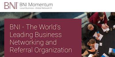 BNI Momentum Showcase Meeting