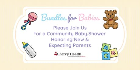Bundles for Babies: Cherry Health's Community Baby Shower tickets