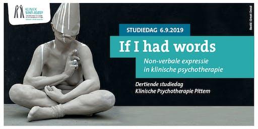 If I had words, met als keuze workshop ' BBB - Beeld Beweging Bewustzijn'