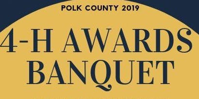 Polk County 4-H Awards Banquet 2019