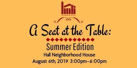 A Seat at the Table: Summer Edition tickets