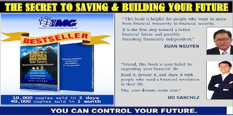 The Secret to Saving & Building Your Future, July 22, Monday, 6:30PM tickets