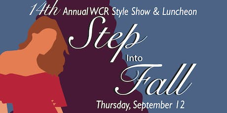 2019 WCR Style Show tickets