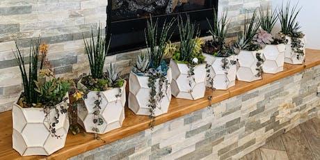 Make it & Take it: White Bowl Succulent Garden tickets