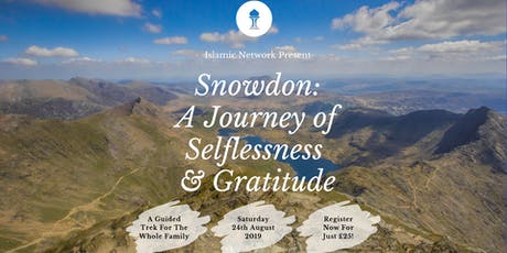 Snowdon 2019 - A Journey of Selflessness and Gratitude tickets