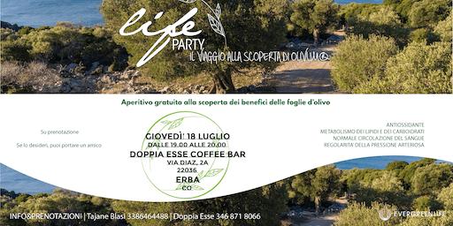 Life Party! Aperitivo gratuito - Erba