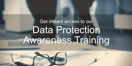 Online (GDPR) Data Protection Awareness Training (Guernsey Data Protection Law) tickets