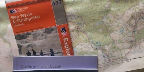 Gaelic in the Landscape workshop - Strathpeffer tickets