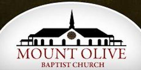 Mount Olive Baptist Church 2019 Back to School Lock-In (K-12th Grade) tickets