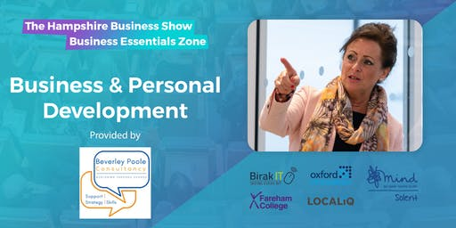 Hampshire Business Show Essentials: Free Business & Personal Development