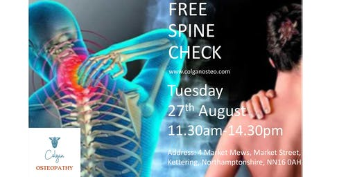 Free Spine & Posture Checks