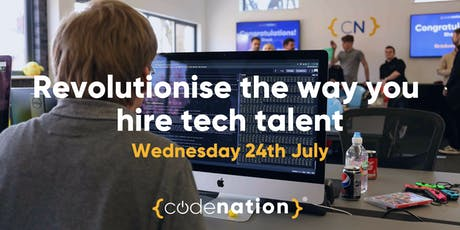 Revolutionise The Way You Hire Talent - Code Nation Apprenticeship Schemes tickets