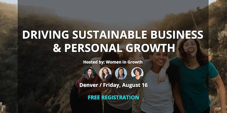 Driving Sustainable Business and Personal Growth billets