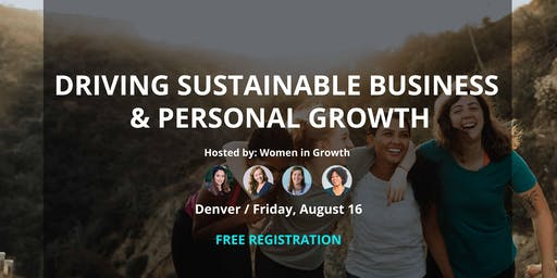 Driving Sustainable Business and Personal Growth