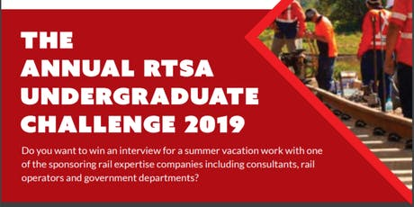 RTSA Undergraduate Challenge 2019 for VIC/TAS - Briefing session tickets