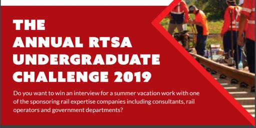 RTSA Undergraduate Challenge 2019 for VIC/TAS - Briefing session