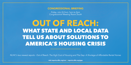 Out of Reach: What State and Local Data Tell Us About Solutions to America's Housing Crisis tickets