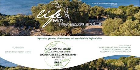 Life Party! Aperitivo gratuito - Erba biglietti