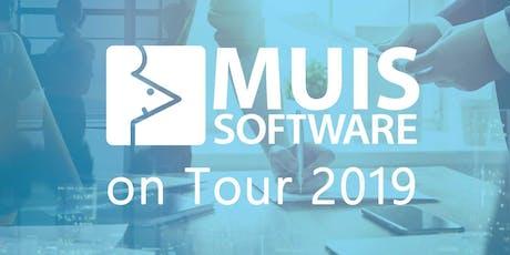 MUIS Software on Tour 2019 - Kick-off Heemskerk tickets