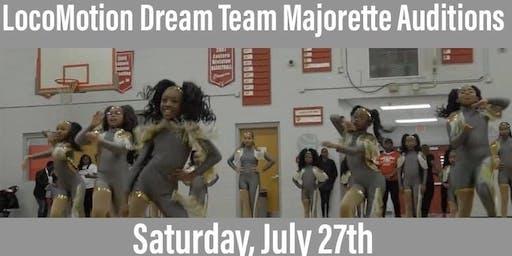 LocoMotion Dream Team Majorette Auditions