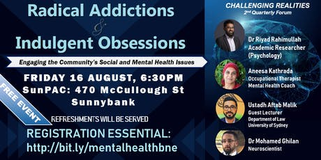 Challenging Realities: Radical Addictions and Indulgent Obsessions tickets