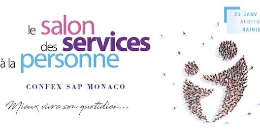 """SALON DES SERVICES A LA PERSONNE """"CONFEX SAP"""" MONACO 2020"""