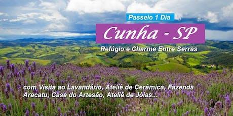 Passeio 1 dia Lavandário - Cunha/SP - 01 de setembro de 2019 (Domingo) tickets