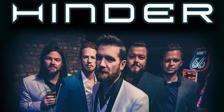 Hinder with Special Guest Mick Blankenship & Sizter Machyne tickets
