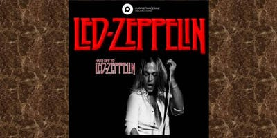 LTH Live! and Purple Tangerine Promotions present Hats off to Led Zeppelin