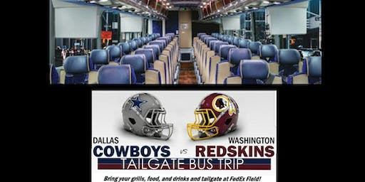 Tailgating Party Bus from VA Beach to FedEX Field - Cowboys v. Redskins