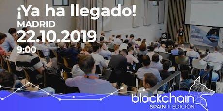 Blockchain Spain II Edición entradas