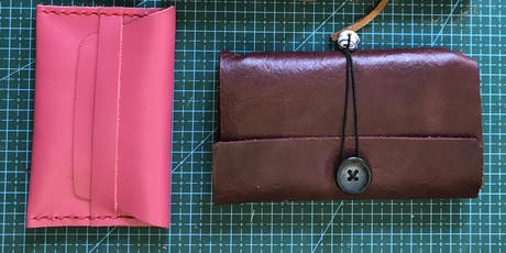 Leather Crafting Afternoon - make 2-3 small products tickets