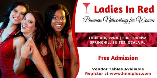 Ladies in Red - A Business Networking Event for Women