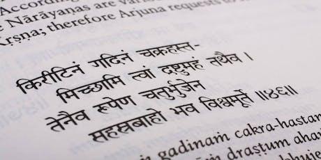 Yoga Spezialklasse: Yoga & die Bhagavad Gita Tickets
