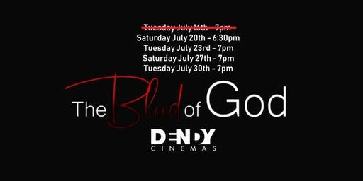 """The Blood of God"" Dendy Screenings (Limited Cinema Release)"