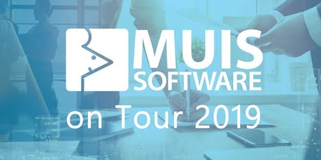MUIS Software on Tour 2019 - Zwolle tickets