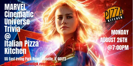 Marvel Trivia at Italian Pizza Kitchen tickets