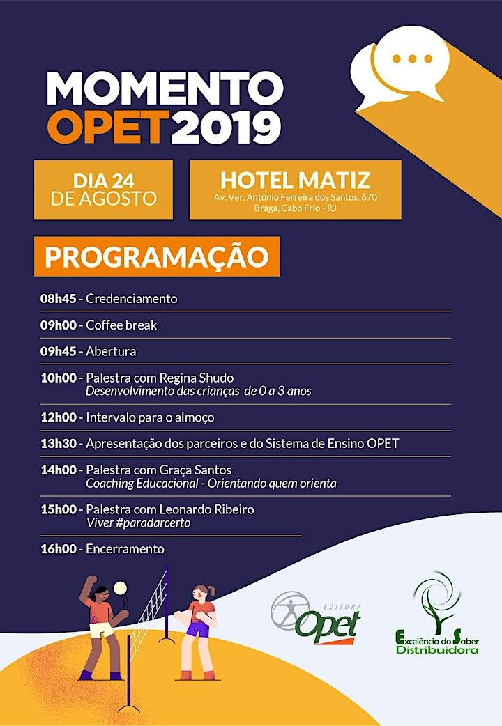 Imagem do evento MOMENTO OPET 2019