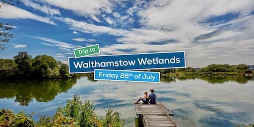 Trip to Walthamstow wetlands