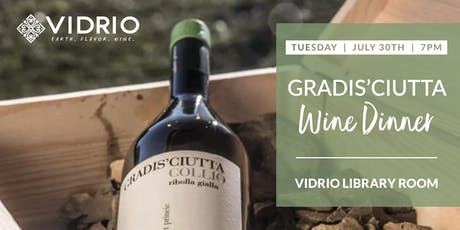 5-Course Wine Dinner with Gradis'ciutta Winery tickets