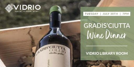 5-Course Wine Dinner with Gradis'ciutta Winery