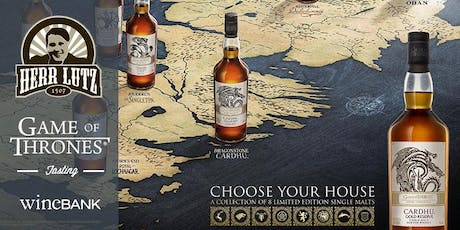 Whisky Tasting - Game of Thrones Tickets
