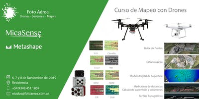 Curso de Fotogrametria con Drones en el NEA