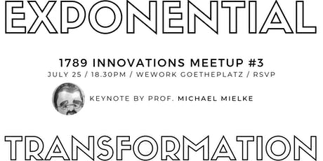 Exponential Transformation - How To Guide Your Company Through Radical Change Tickets