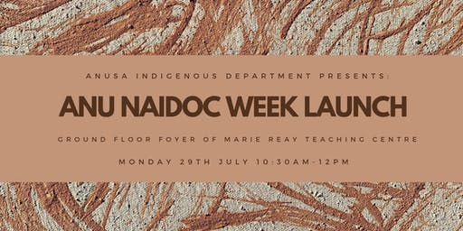 ANU NAIDOC Week Launch
