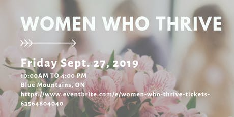 Women Who Thrive tickets