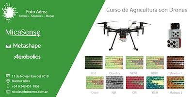 Curso Internacional Drones para Agricultura - MicaSense