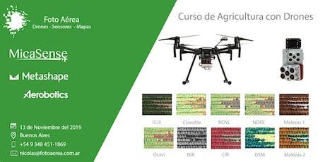 Curso Internacional Drones para Agricultura - MicaSense entradas
